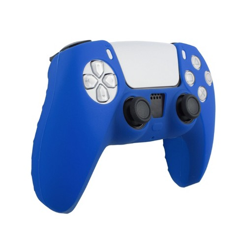 Insten Controller Grip Cover Case Compatible with PS5 Controller - Protective Silicone Skin, Blue - image 1 of 4