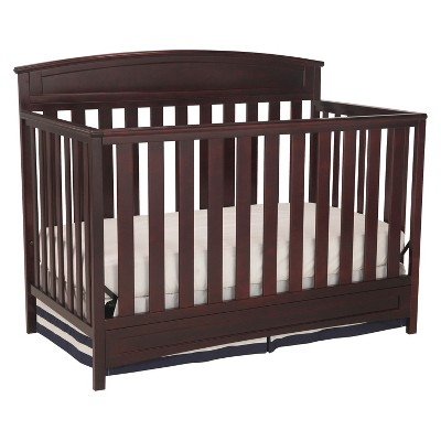 Delta Children® Sutton 4-in-1 Convertible Crib - Espresso Java