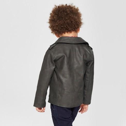 e44d812b4a2e Toddler Boys  Genuine Kids® From OshKosh Moto Jacket Asymmetrical ...