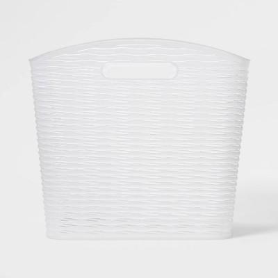 Wave Curved Storage Bin Translucent - Room Essentials™
