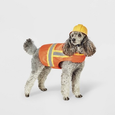 Reflective Construction Vest and Hat Dog and Cat Costume - Hyde & EEK! Boutique™