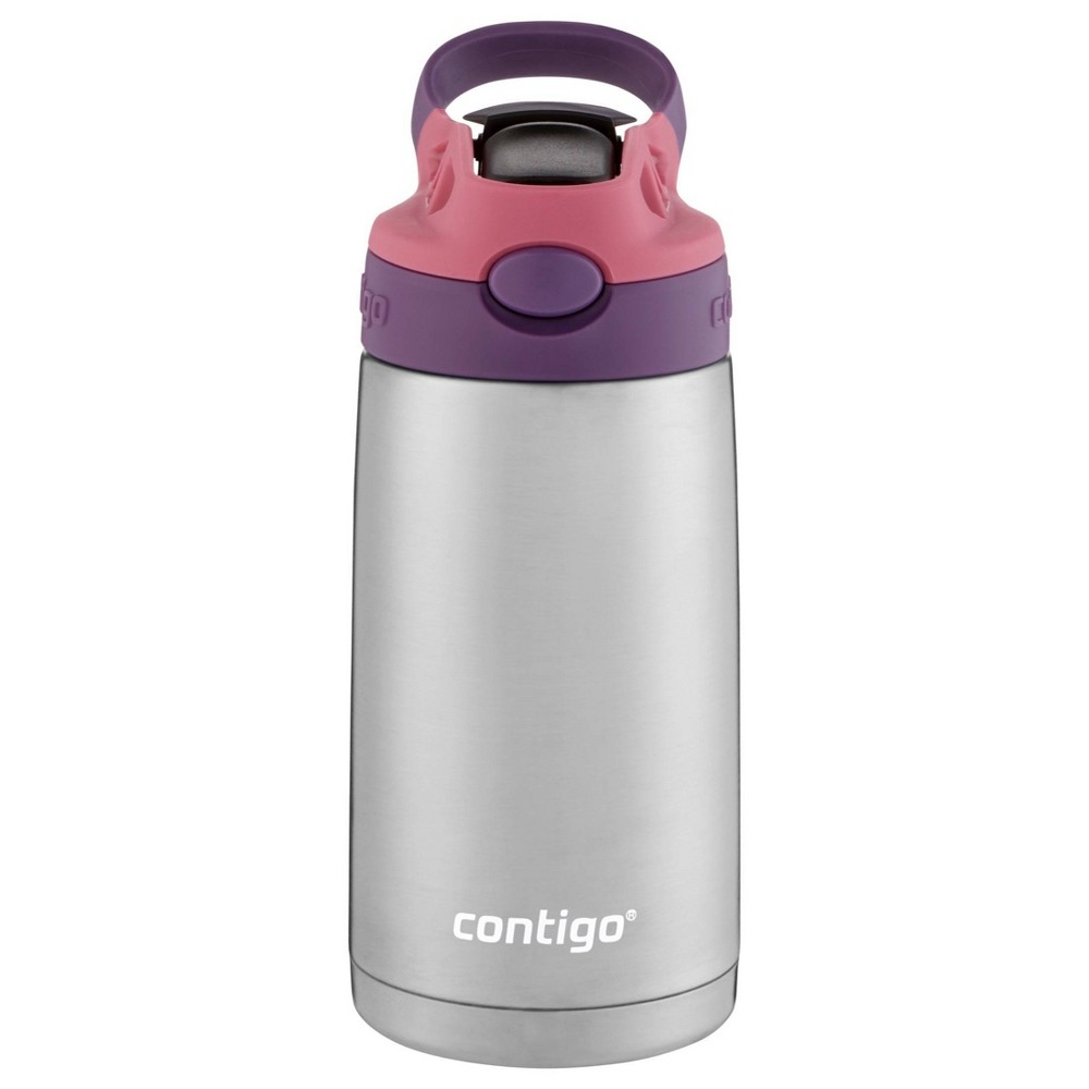 Image of Contigo 13oz Stainless Steel Kids Water Bottle Purple