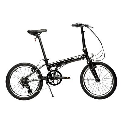 """ZiZZO Urbano 8-Speed Aluminum 20"""" Folding Bike - Gray"""