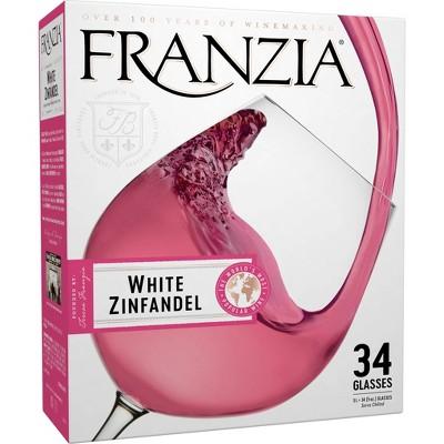 Franzia White Zinfandel Wine - 5L Box