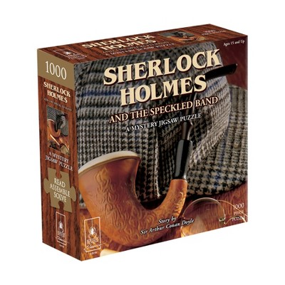 Bepuzzled Classic Mystery: Sherlock Holmes and the Speckled Band Jigsaw Puzzle - 1000pc