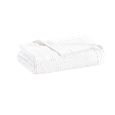 Egyptian Cotton Blanket (Full/Queen)White