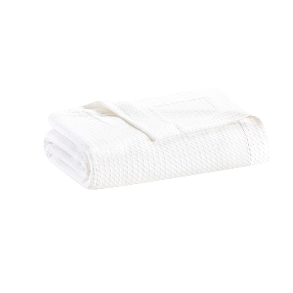 Egyptian Cotton Blanket (King) White