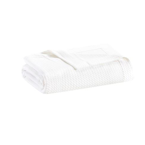 Egyptian Cotton Blanket King White Target