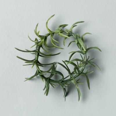 4pc Faux Rosemary Greenery Napkin Ring Set - Hearth & Hand™ with Magnolia