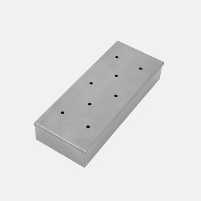 "9"" Stainless Steel Smoker Box TB0902S- Royal Gourmet"