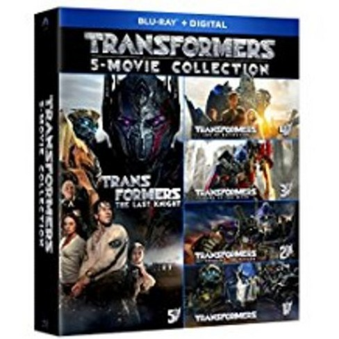 Transformers 5 Movie Collection Blu Ray Target