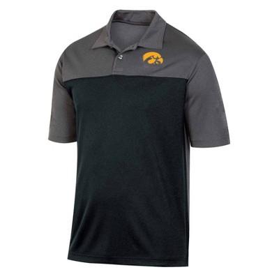 NCAA Iowa Hawkeyes Men's Short Sleeve Polo Shirt