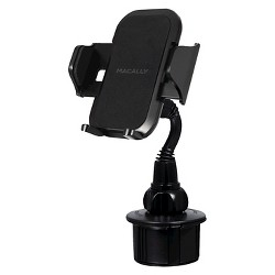 Macally Adjustable Automobile Cup Holder for Mobile Devices