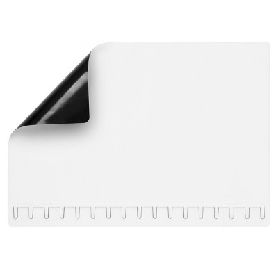"""12""""x17"""" White Dry Erase Magnetic Sheet with 4ct Markers and Eraser - Note Tower"""