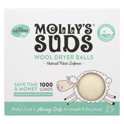Molly's Suds Wool Dryer Balls - 3 ct