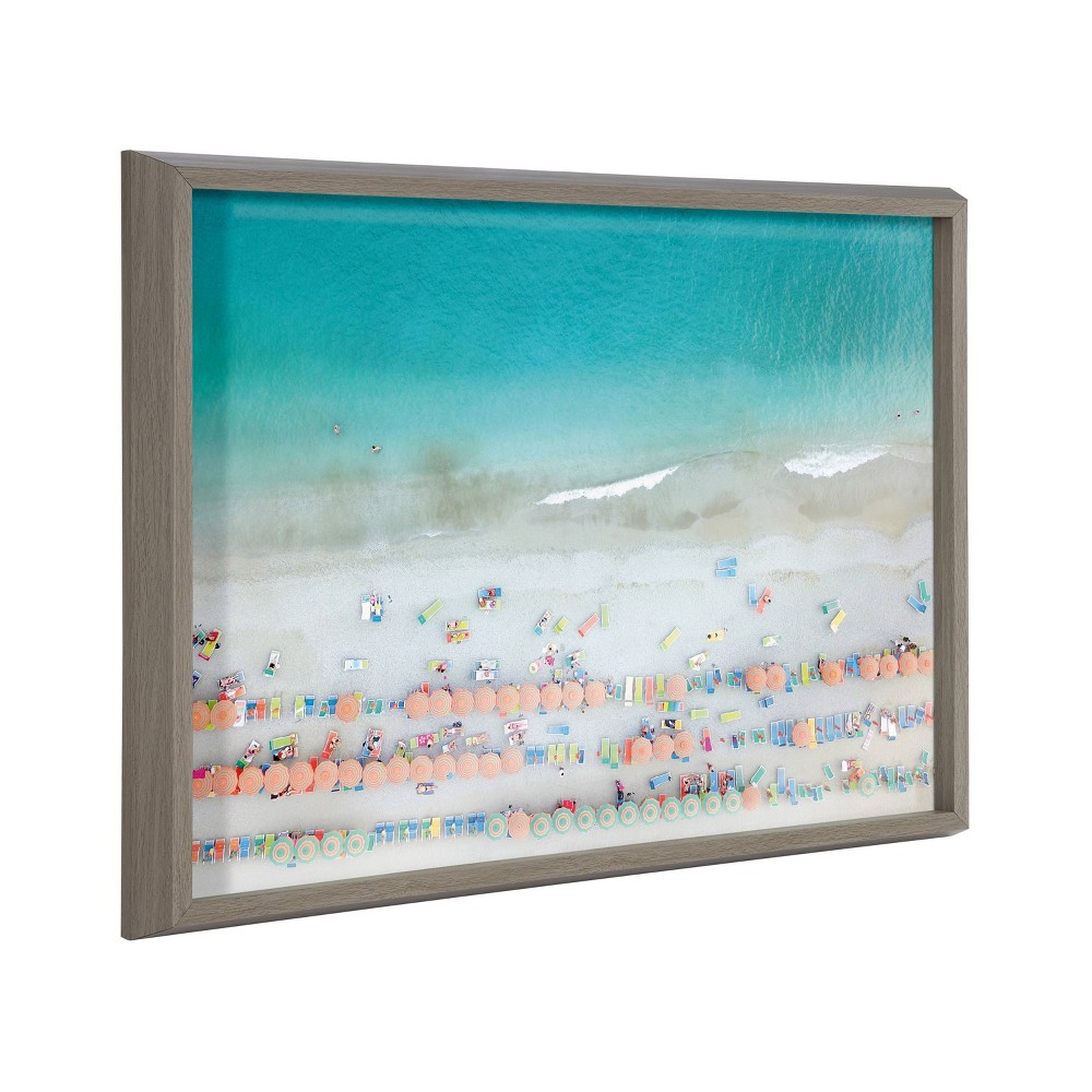 18 34 X 24 34 Blake Monterosso By Rachel Dowd Framed Printed Art Gray Kate 38 Laurel All Things Decor