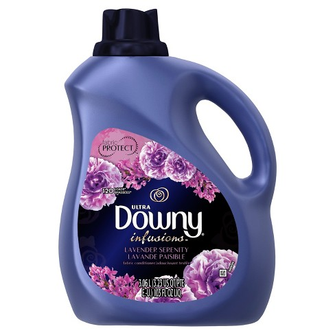 Downy Ultra Infusions Lavender Serenity Liquid Fabric Softener 103 oz - image 1 of 2