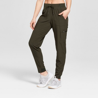 9938bbd58a Women s Woven Train Mid-Rise Pants 29
