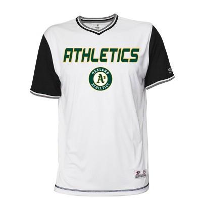 MLB Oakland Athletics Men's Gametime V-Neck Jersey