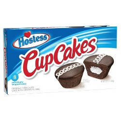 Hostess Chocolate Cup Cakes - 8ct/12.7oz