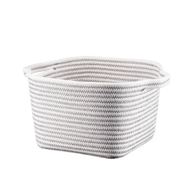 Bath Basket Small Crate Off White - Threshold™