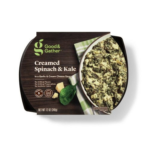 Creamed Spinach and Kale - 12oz - Good & Gather™ - image 1 of 2