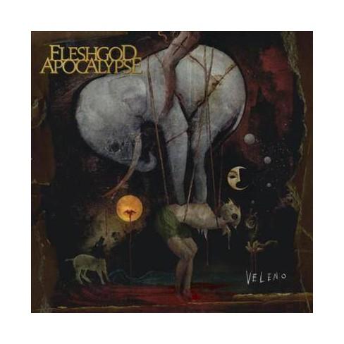 Fleshgod Apocalypse - Veleno (Gold/Black splatter) (Vinyl) - image 1 of 1