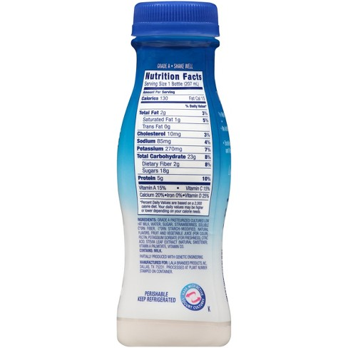 9ea2bd33f26bd LaLa Wild Strawberry Yogurt Smoothie - 7 Fl Oz   Target