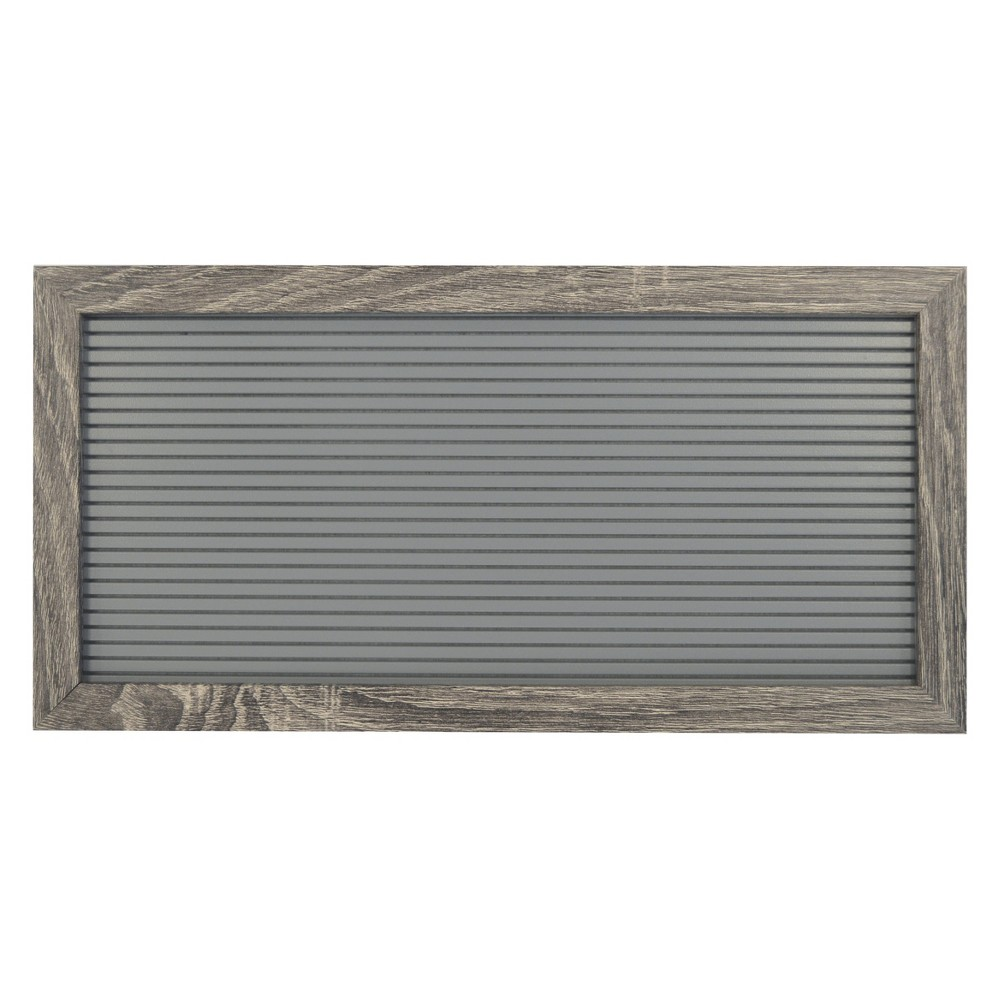 Letterboard Decorative Wall Art Set Gray 7