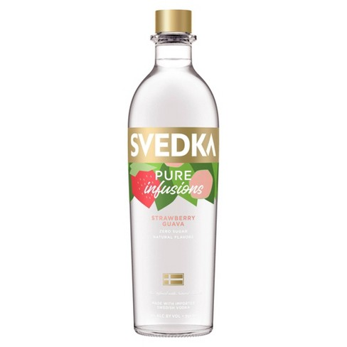 SVEDKA Pure Infusions Strawberry Guava Flavored Vodka - 750ml Bottle - image 1 of 1