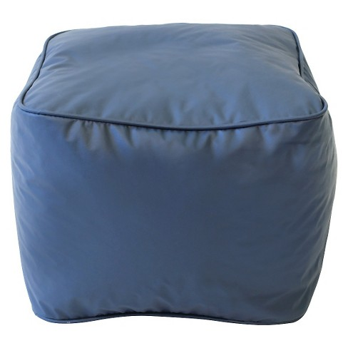 Square Ottoman Blue - Gold Medal - image 1 of 1