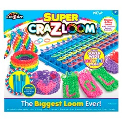 Cra-Z-Loom Super Loom, craft activity kits