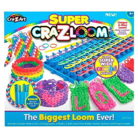 Cra-Z-Loom Super Loom, Craft Activity Kits image number null