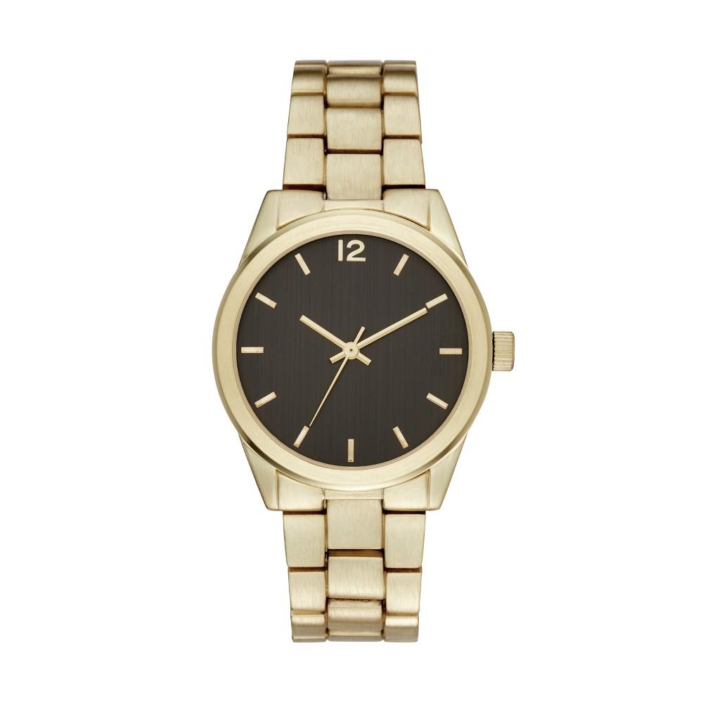 Men's Bracelet Watch - Goodfellow & Co Gold