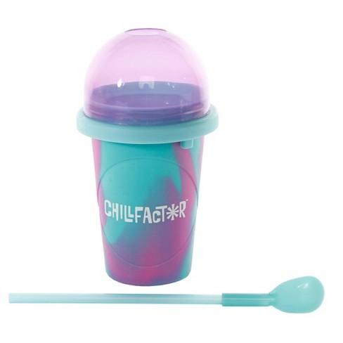 Chill Factor Slushy Maker - Aqua and Purple - image 1 of 4