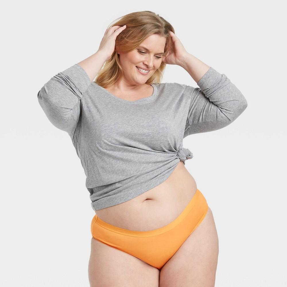 Women 39 S Plus Size Cotton Bikini Underwear Auden 8482 Gold X
