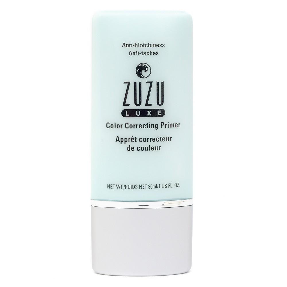 Zuzu Luxe CC Primer - Anti-Blotchiness - 1 oz, Mint Green