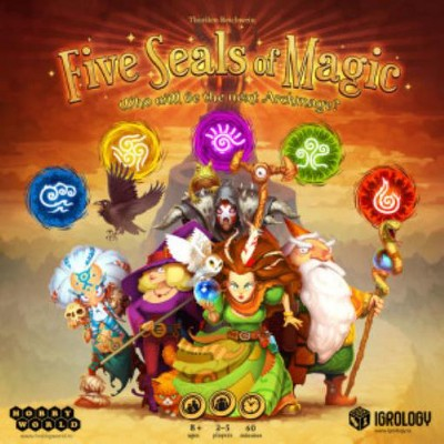 Five Seals of Magic - Who Will Be the New Archmage? Board Game