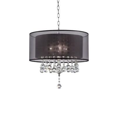 """OK Lighting 19""""H Effleurer Ceiling Lamp"""