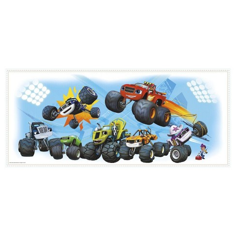 Blaze and the Monster Machines Giant Wall Graphic - image 1 of 1