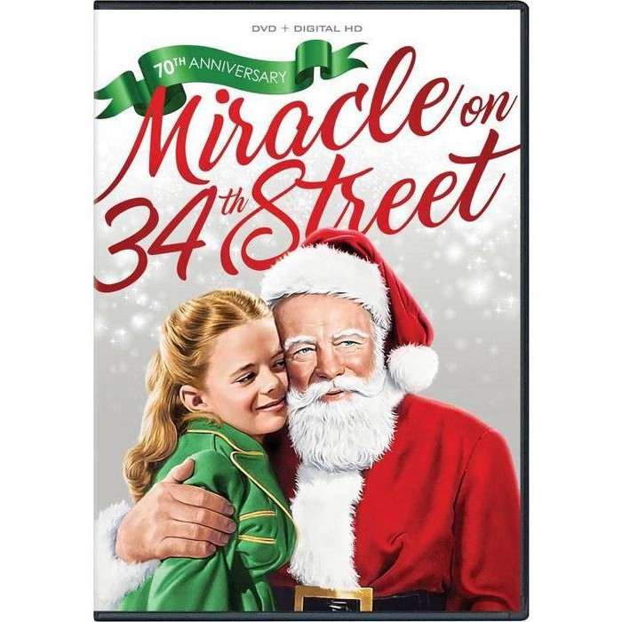 Miracle On 34th Street (70th Anniversary) (DVD) : Target
