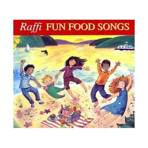 Raffi - Fun Food Songs (CD) - image 1 of 1