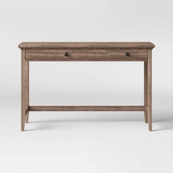 Carson Wood Writing Desk with Drawers - Threshold™