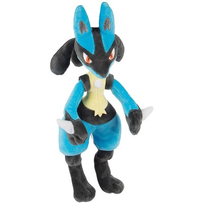 "Jazwares Pokemon Lucario Plush Stuffed Animal Toy 12"""