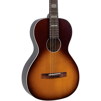 Recording King RPH-P2-TS Dirty 30s Cross Country Parlor Acoustic Guitar Natural