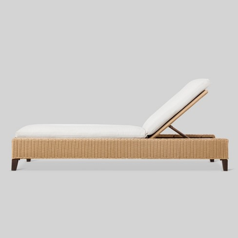 Fullerton Wicker Patio Chaise Lounge - Project 62™ - image 1 of 3