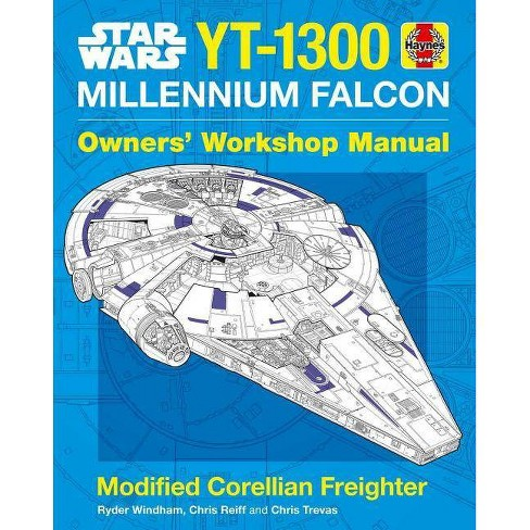 Star Wars: Millennium Falcon - (Haynes Manual) by  Ryder Windham (Hardcover) - image 1 of 1