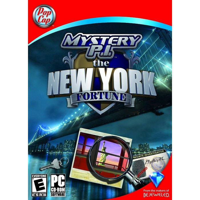 Mystery P.I. The New York Fortune - PC Game (Digital) - image 1 of 1
