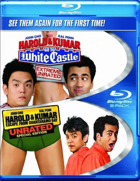 Blu Ray Harold Kumar Go To White Castle Harold Kumar Escape From Guantanamo Bay Blu Ray