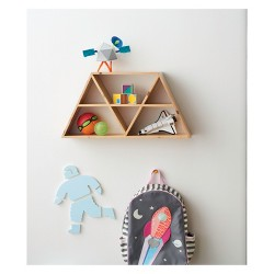 "Triangles Shelf (12""x23.5""x5"") - Pillowfort™"
